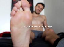 Foot Fetish - Chris Feet Part16 Video2