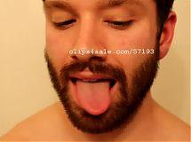 Tongue Fetish - Mick Tongue Video 3