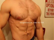 Muscle Fetish - Mick Flexing Video 4