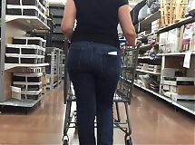 Slim Latina Sexy Ass Walking