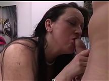 Horny Spanish Mom gets Plowed