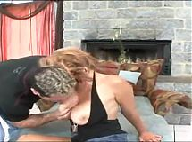 Milf squirt while rough fucking